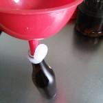 梅酢を小分けにしました