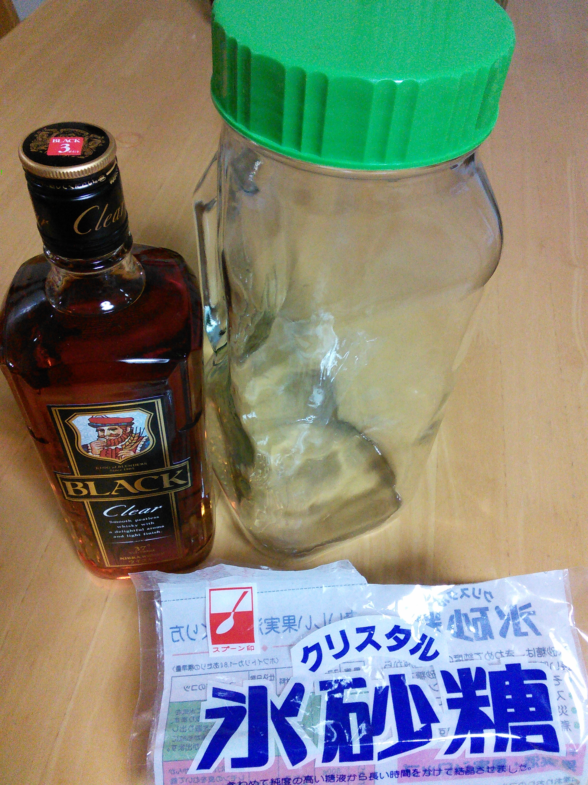 梅酒ウイスキー