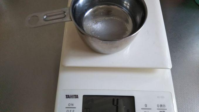 2%の食塩水